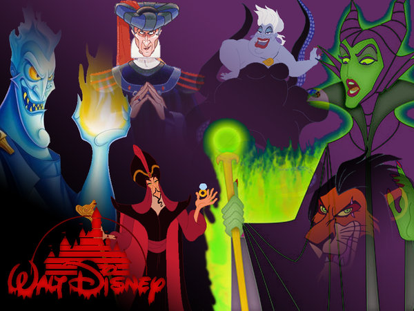 Free Download Disney Villains By Sturm1212 600x450 For Your