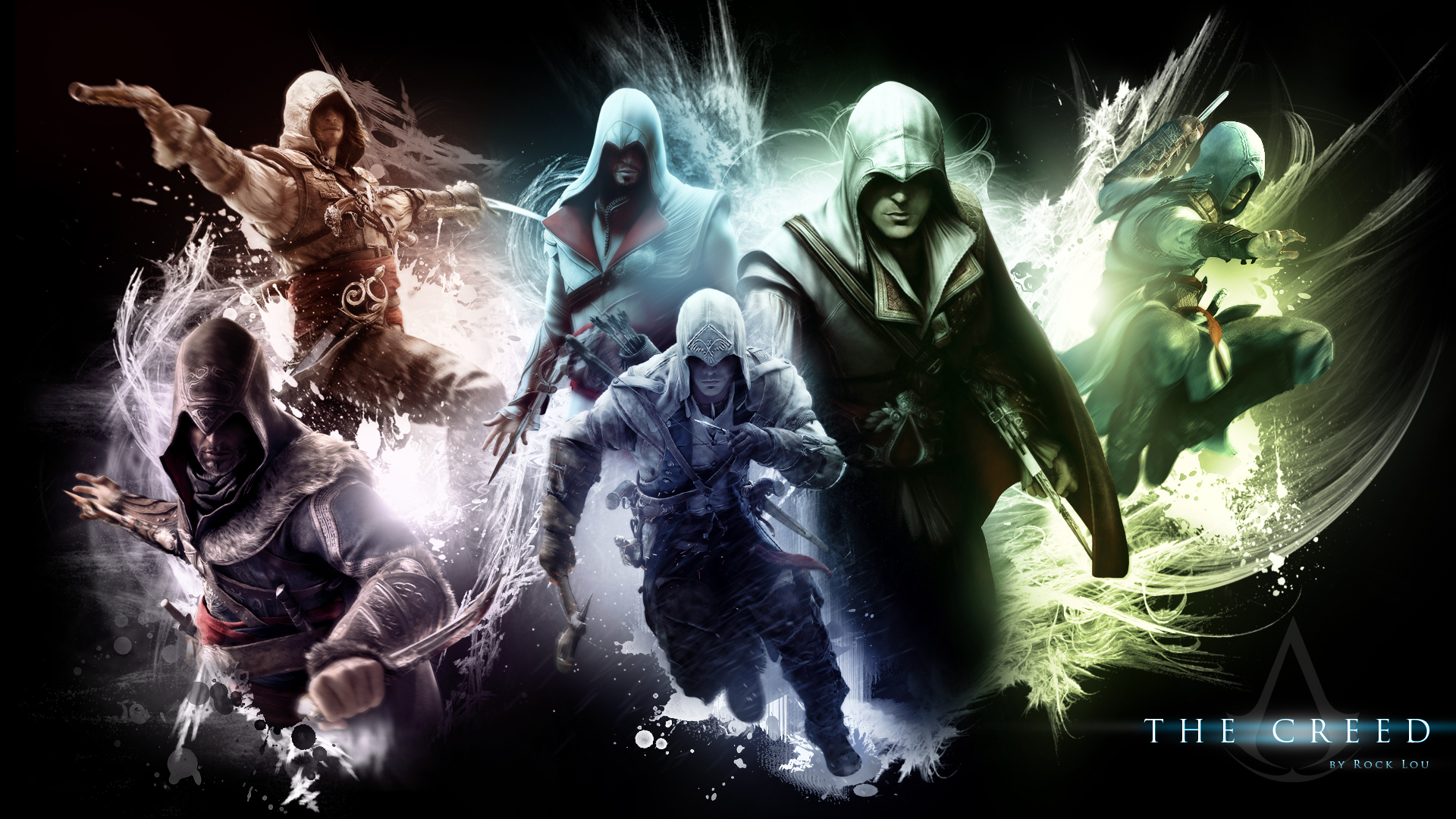 The Creed   Assassins Creed Wallpaper by RockLou on 1920x1080