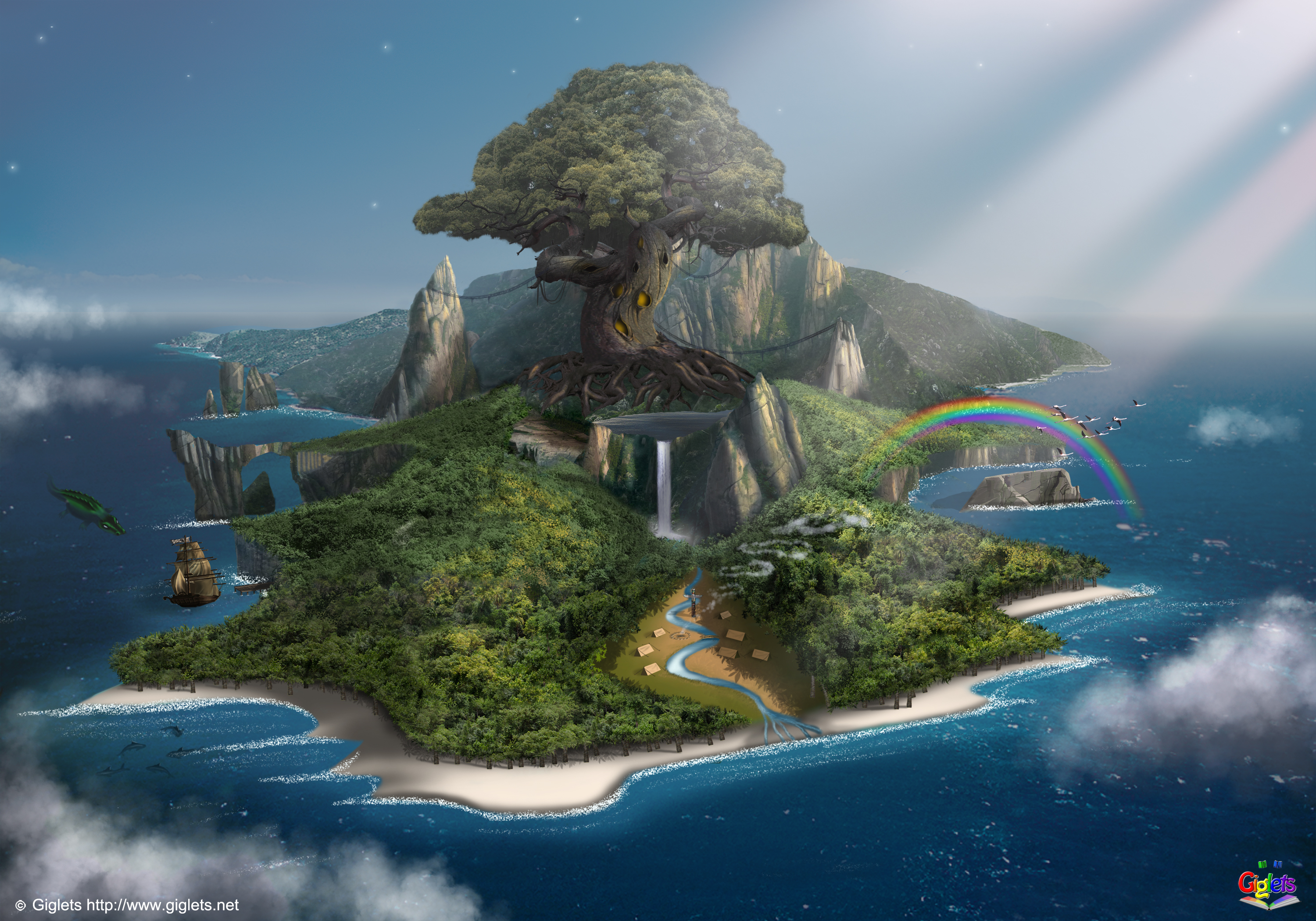 Sims  The Lost Island