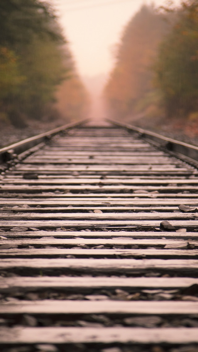 Wallpapers Download iPhone Wallpapers Railroad Tracks iPhone 5 HD 640x1136