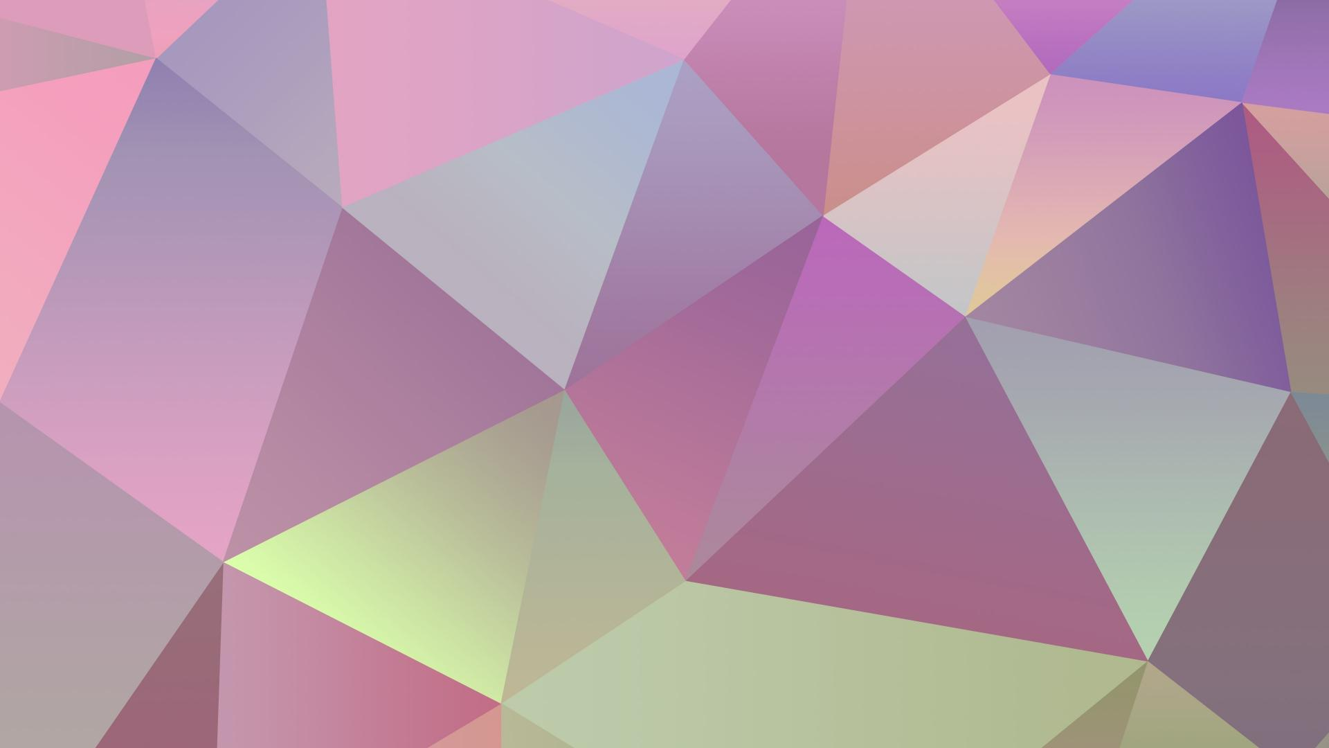 minimalistic jelly candy bean simple triangles clean wallpaper 1920x1080