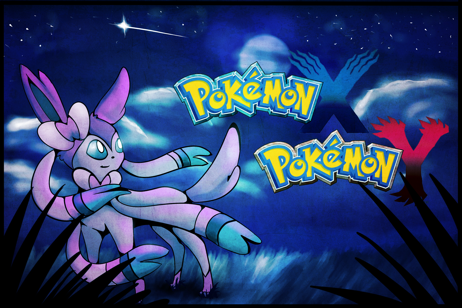 Pokemon X and Y   Sylveon Wallpaper by SoSaucy 1600x1067