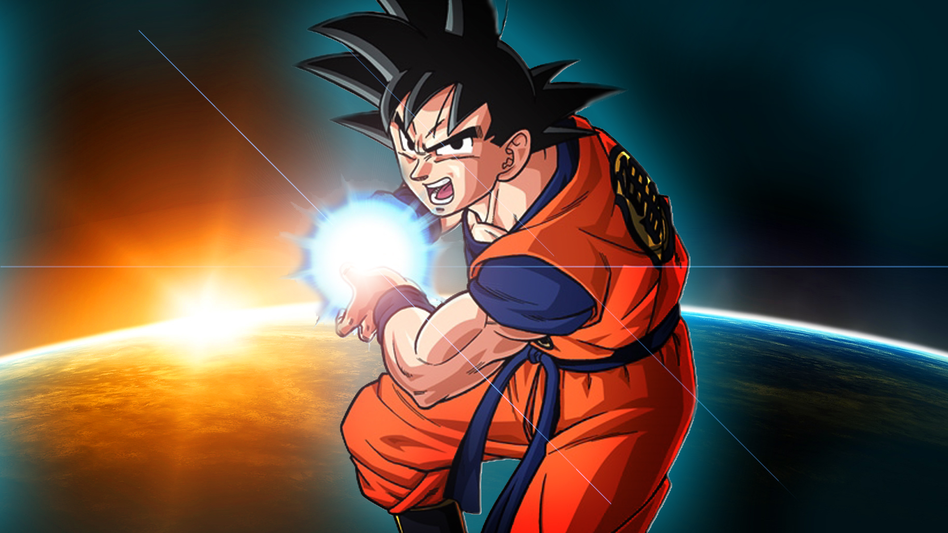 Goku Kamehameha Dbz Kakarot Wallpaper 1920x1080 Full HD Wallpapers 1920x1080