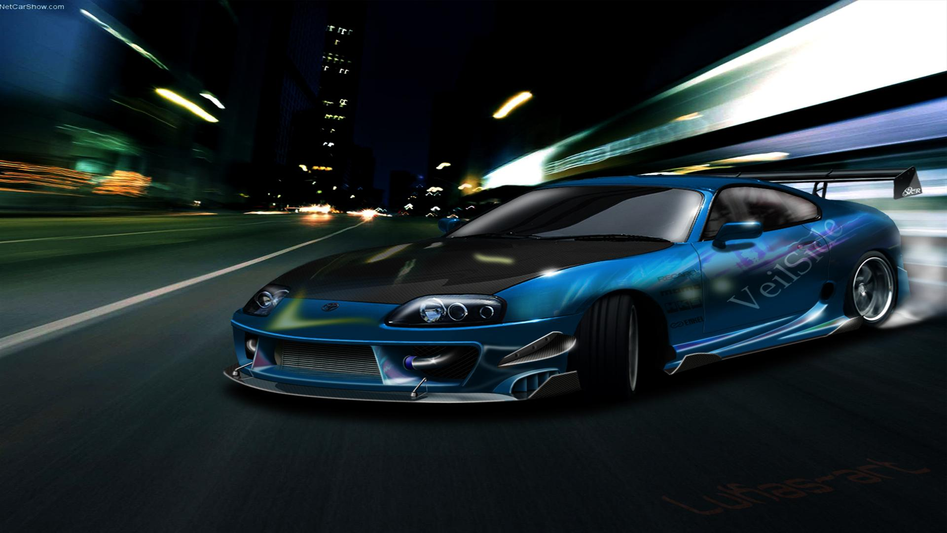 Top Toyota Supra Wallpaper 1080p HD High Resolution Image 1920x1080