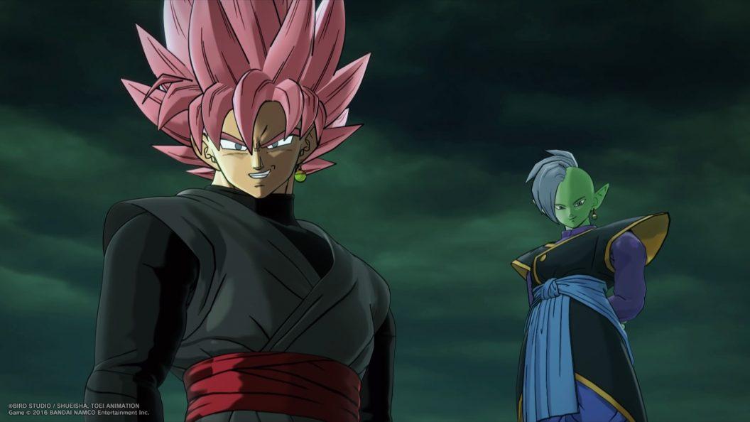 Dragon Ball Xenoverse 2 Goku Black Zamasu PS4Wallpaperscom 1056x594