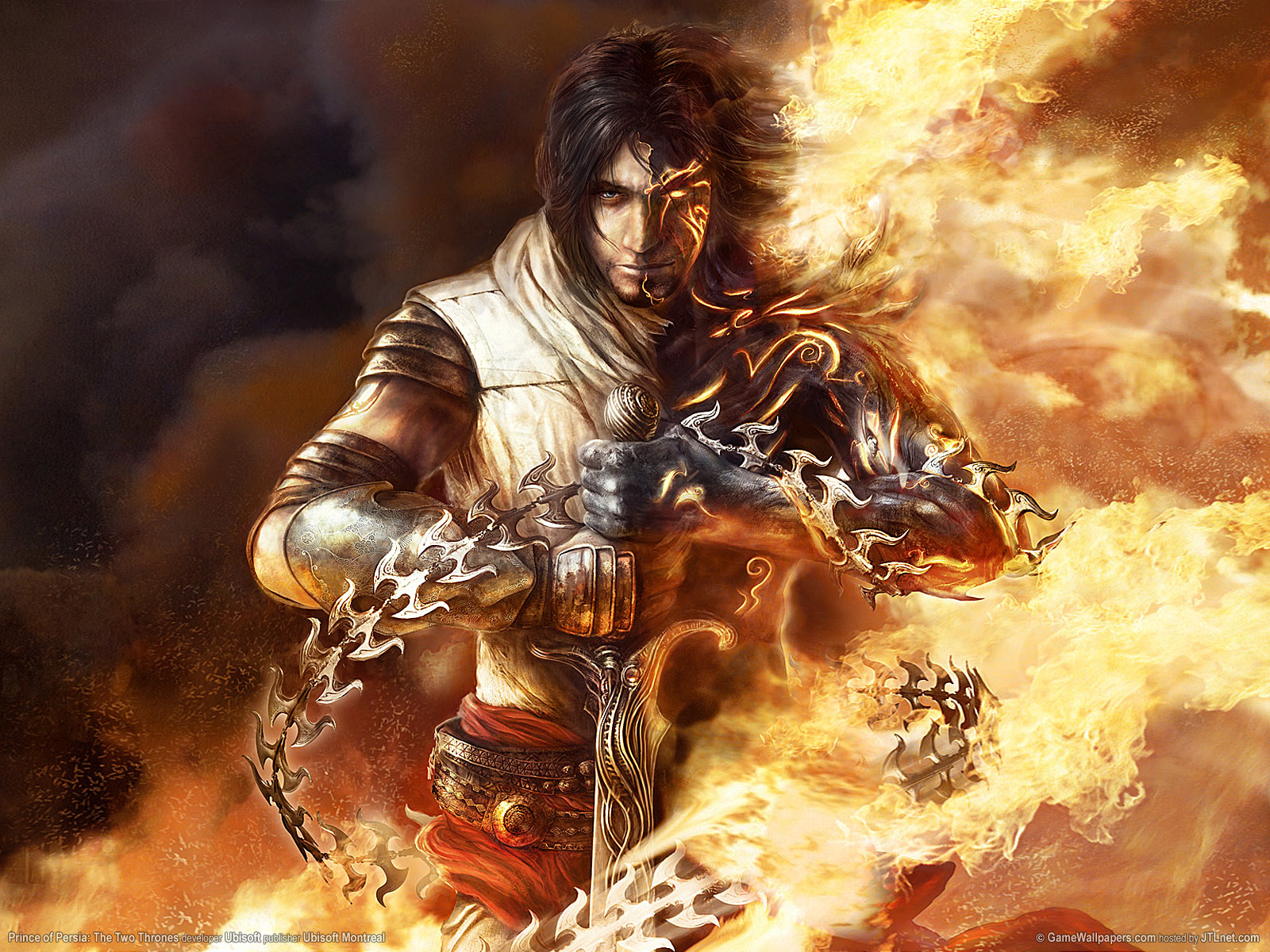74 Prince Of Persia The Two Thrones Wallpaper On Wallpapersafari