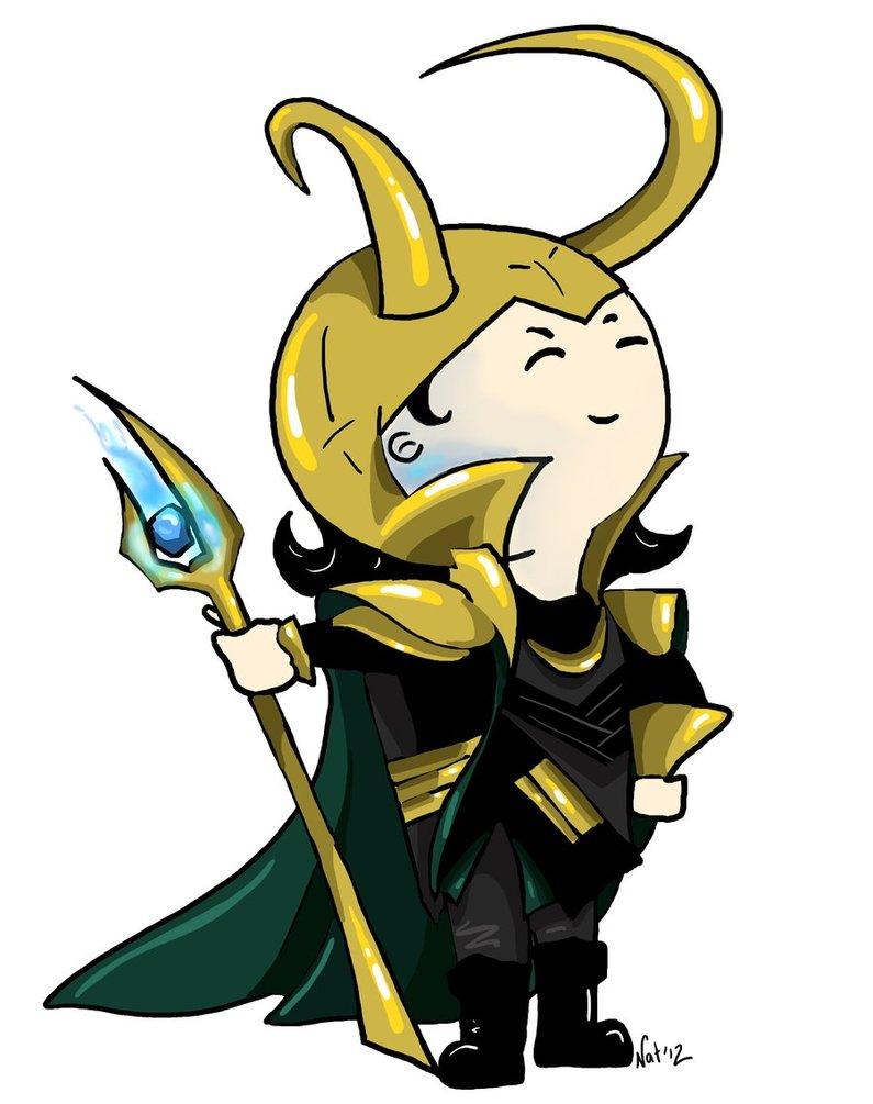 Chibi Loki by Sugarsop 795x1005