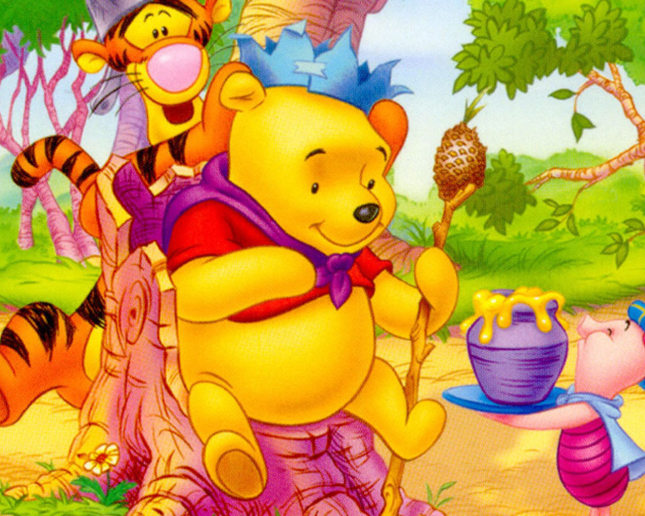 50 Winnie The Pooh Free Wallpaper On Wallpapersafari