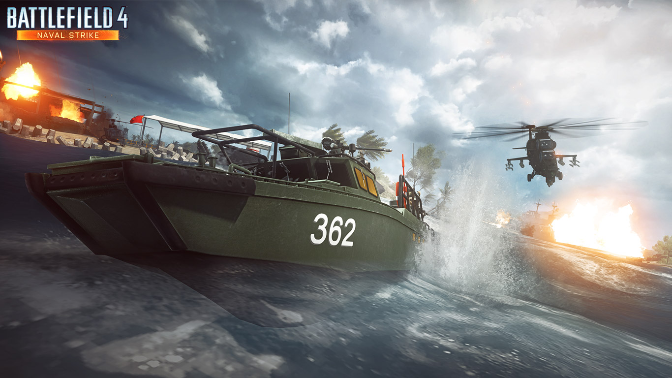 Battlefield 4 Wallpaper in 1366x768 1366x768
