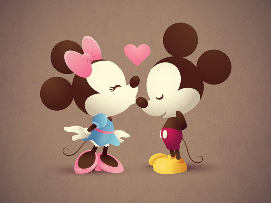 Mickey And Minnie Wallpaper by MizzTutorials 900x675