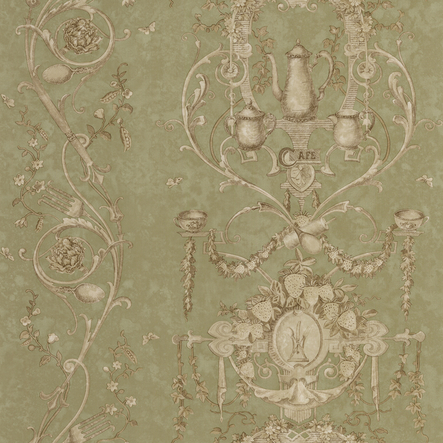 roth Green Peelable Vinyl Prepasted Classic Wallpaper at Lowescom 900x900