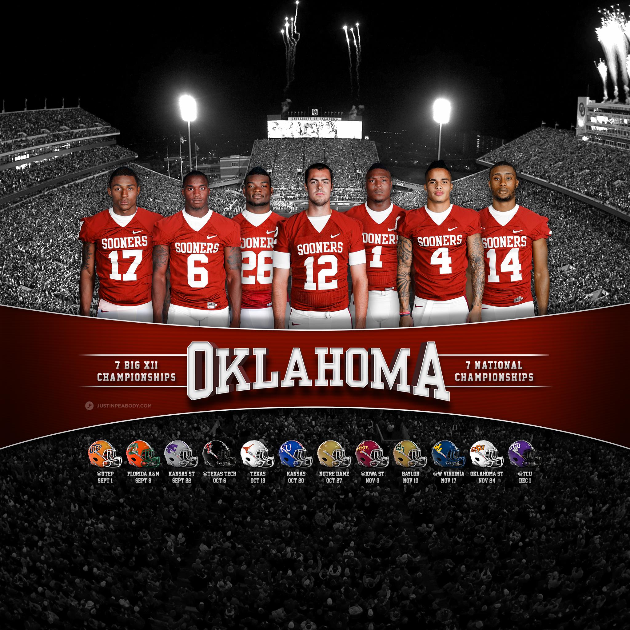Oklahoma Sooners Football Wallpaper 2013 Ou 12 ipadjpgdisposition 2048x2048