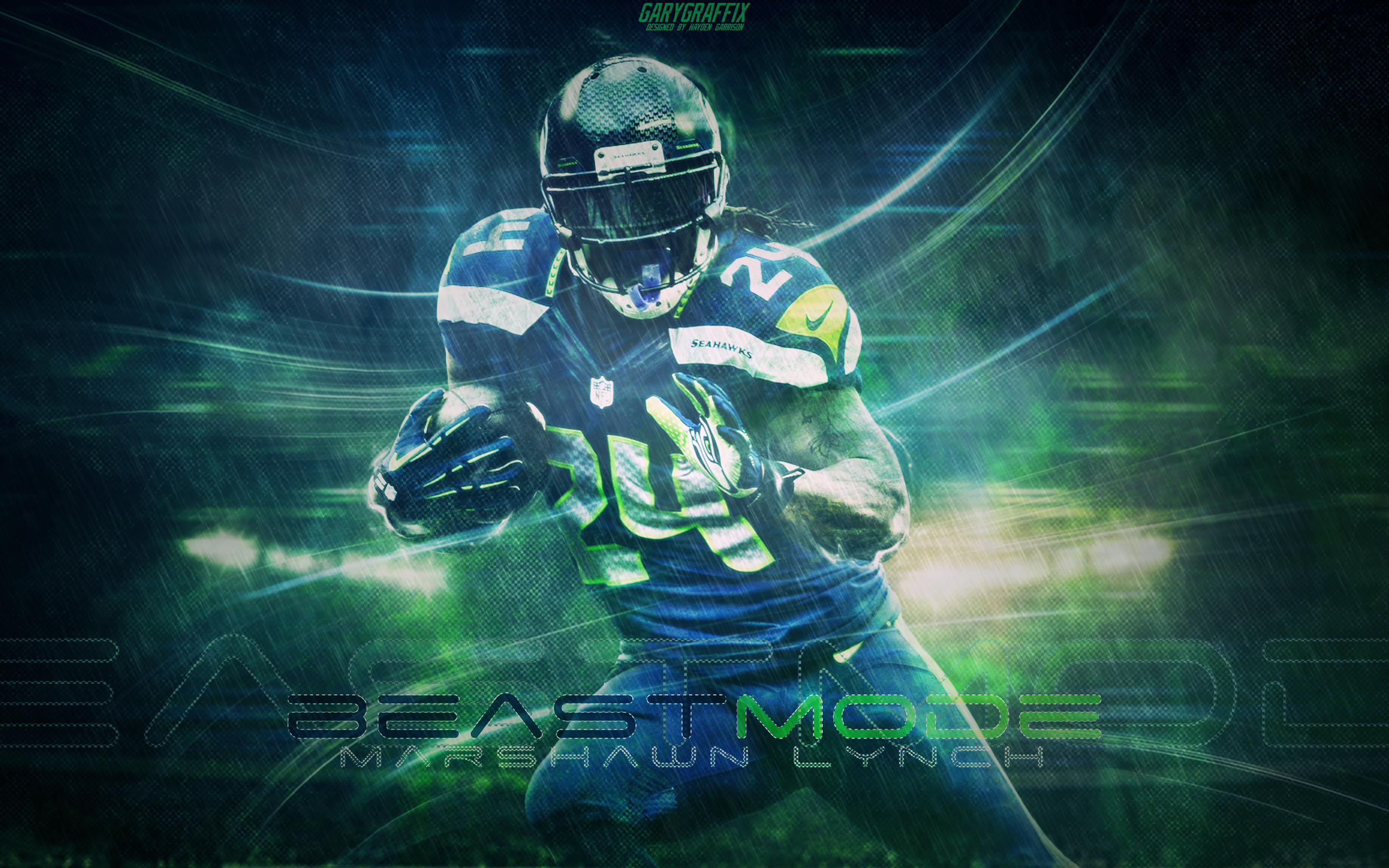 marshawn lynch wallpaper hd