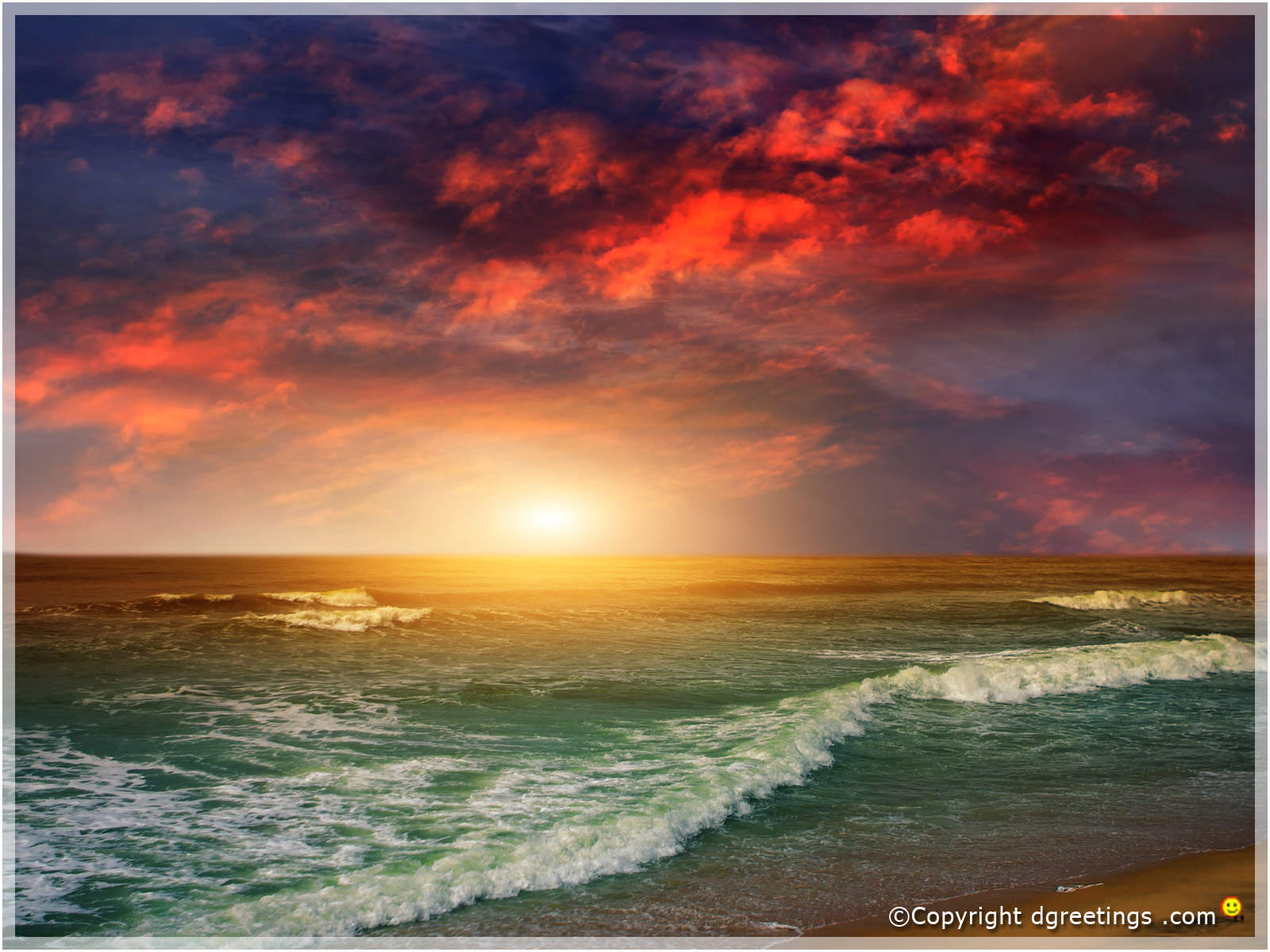 Desktop wallpapers on Ocean dgreetingscom 1600x1200