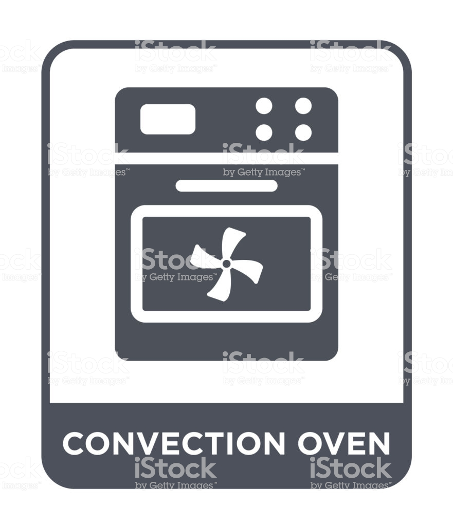 Convection Oven Icon Vector On White Background Convection Oven 881x1024