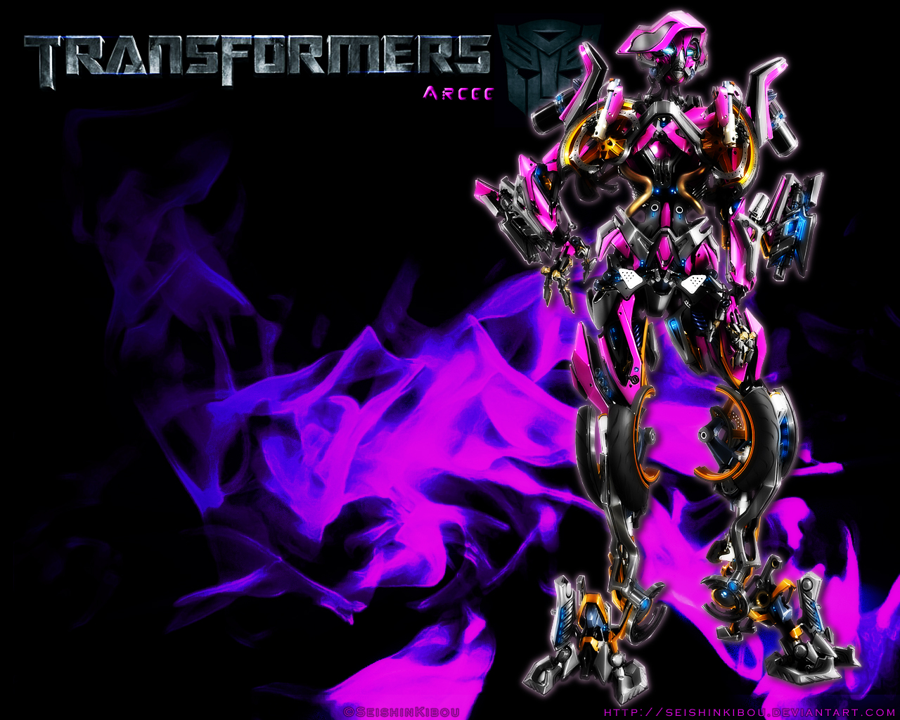 Transformers Movie Wallpapers Full Size   Transformers Movie Arcee 1280x1024