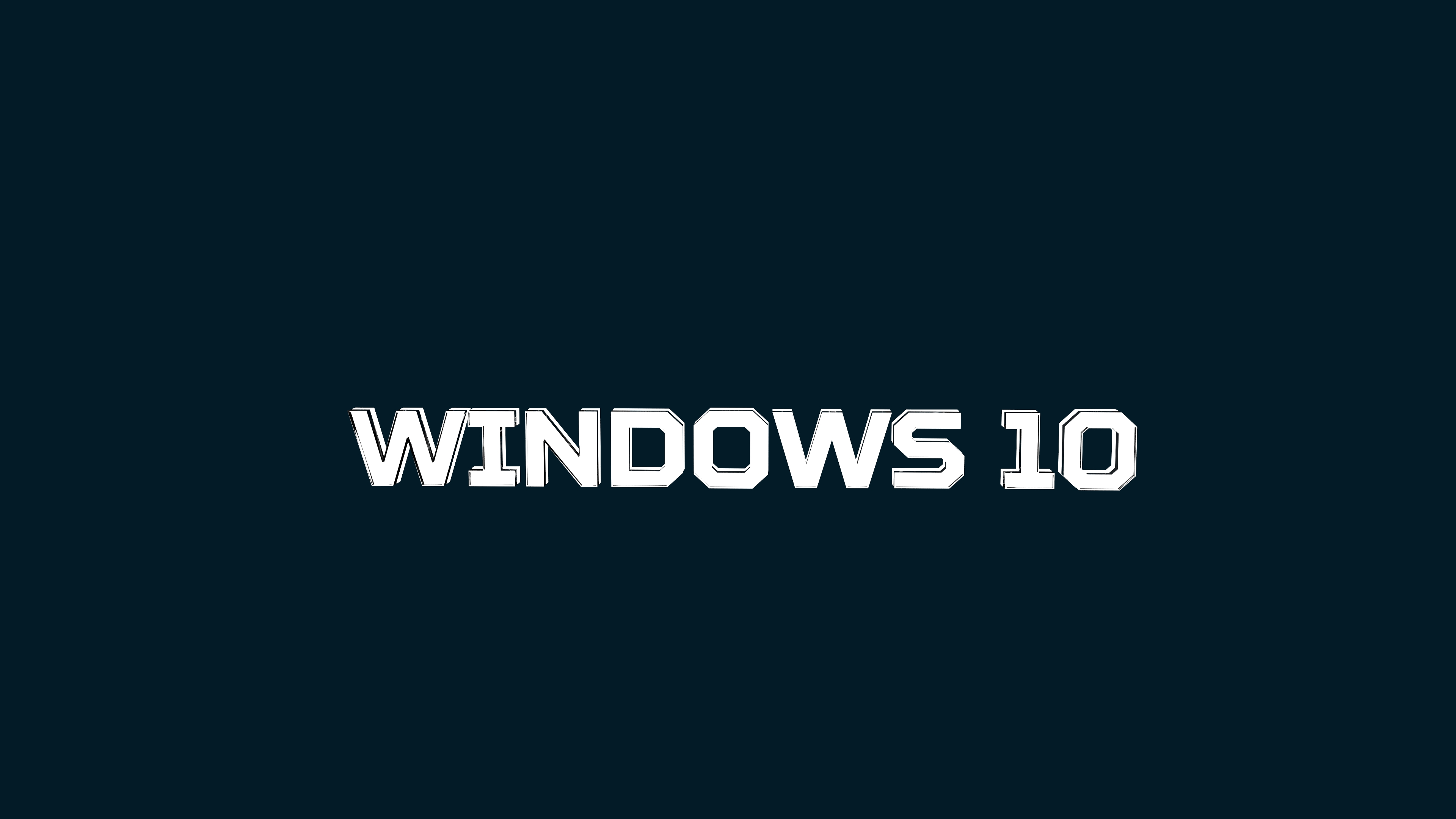 windows 10 dark blue Wallpapers Hintergrnde 3840x2160 ID568415 3840x2160