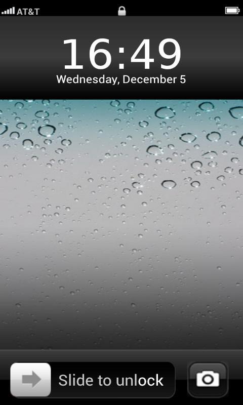 Download Gratis iPhone lock Screen ThemeGratis iPhone lock Screen 480x800