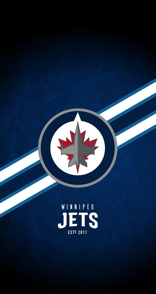 Winnipeg Jets NHL iPhone 678 Lock Screen Wallpaper Flickr 543x1024