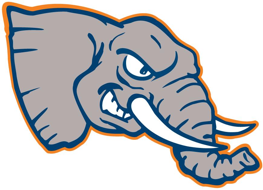 Cal State Fullerton Titans Mascot Logo 1992   An Elephants head 870x628