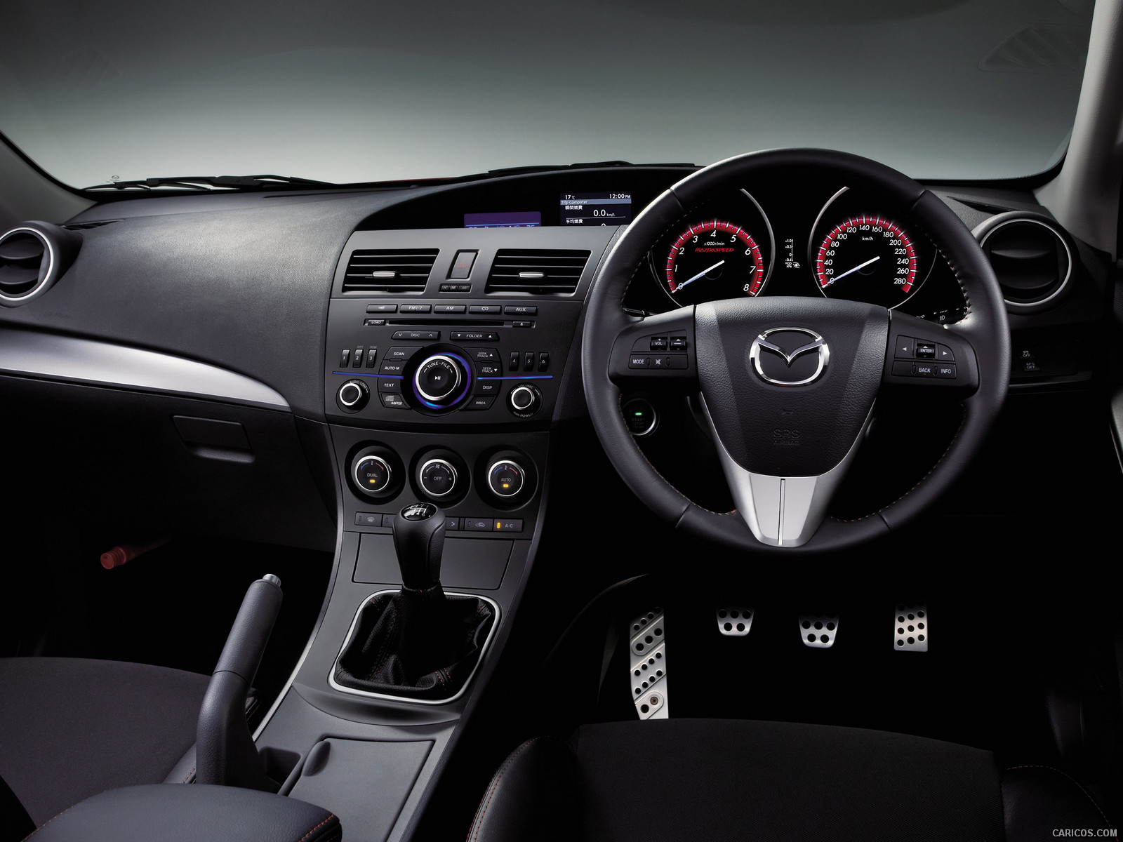2012 Mazda MazdaSpeed 3   Interior Wallpaper 4 1600x1200