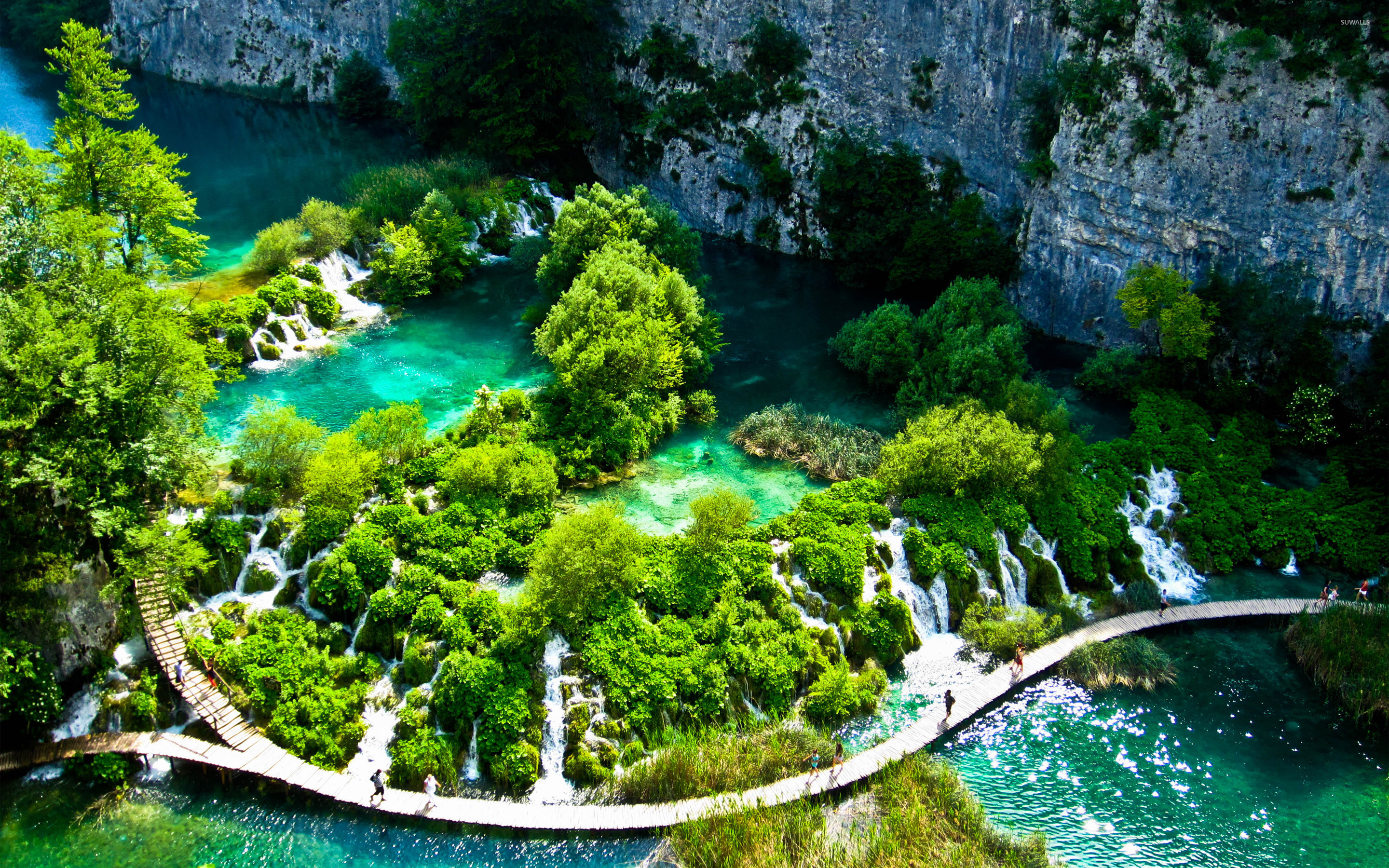 Plitvice Lakes National Park [3] wallpaper   Nature wallpapers 2880x1800