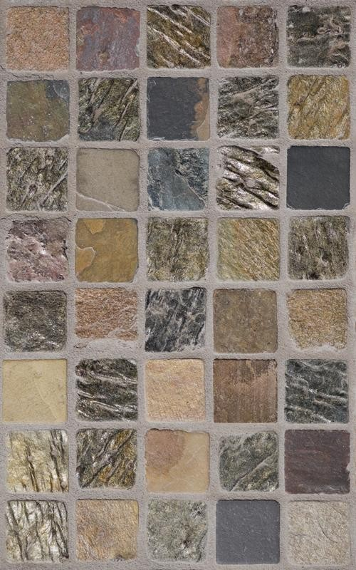 Multiple Texture Stone Tile Wallpaper