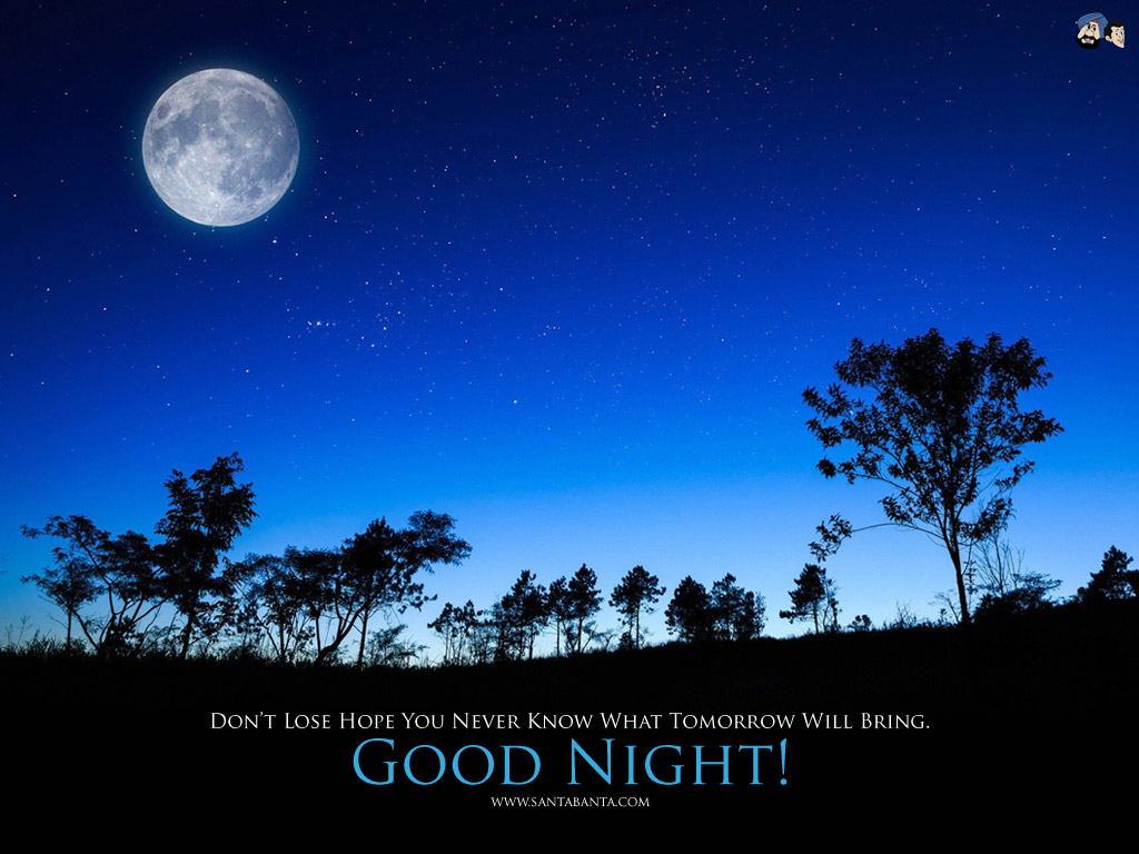 Download Good Night Wallpaper 2 [1024x768] | 78+ Goodnight Wallpaper
