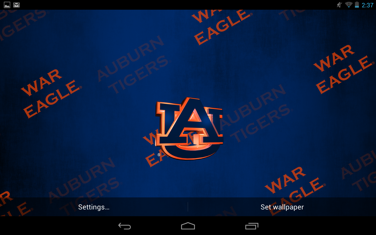 Auburn Tigers Live Wallpaper   Android Apps on Google Play 1280x800