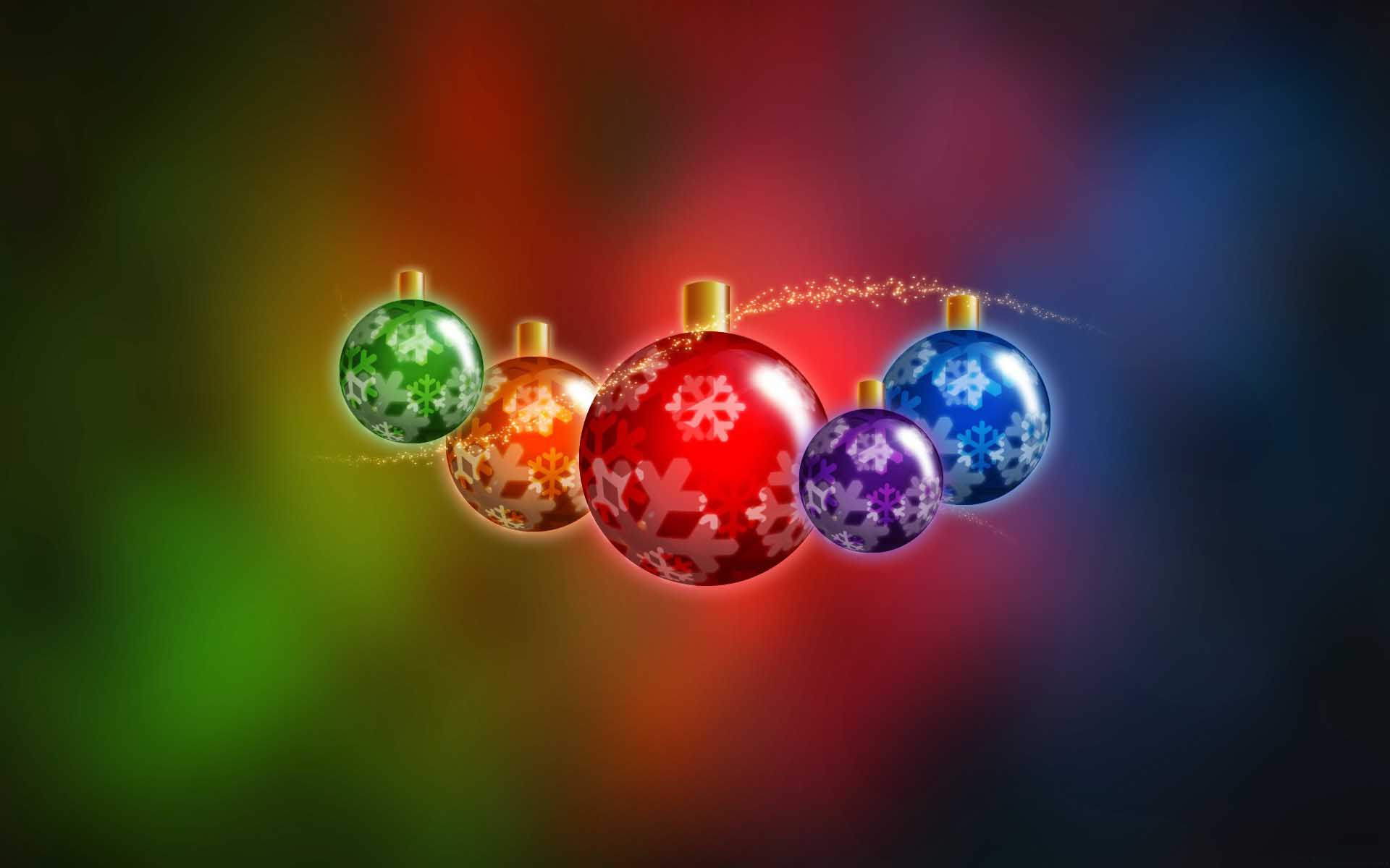 3D Holidays Christmas Wallpapers 1920x1200