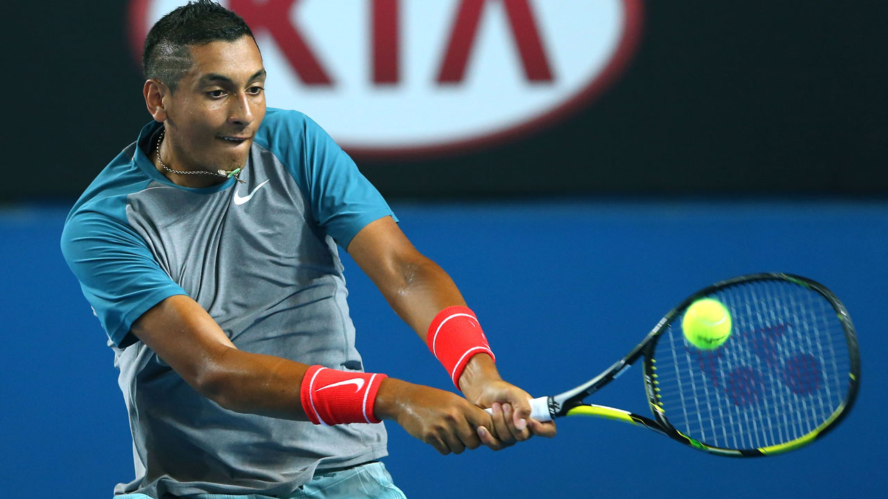 Nick Kyrgios Wallpapers and Background Images   stmednet 1280x720