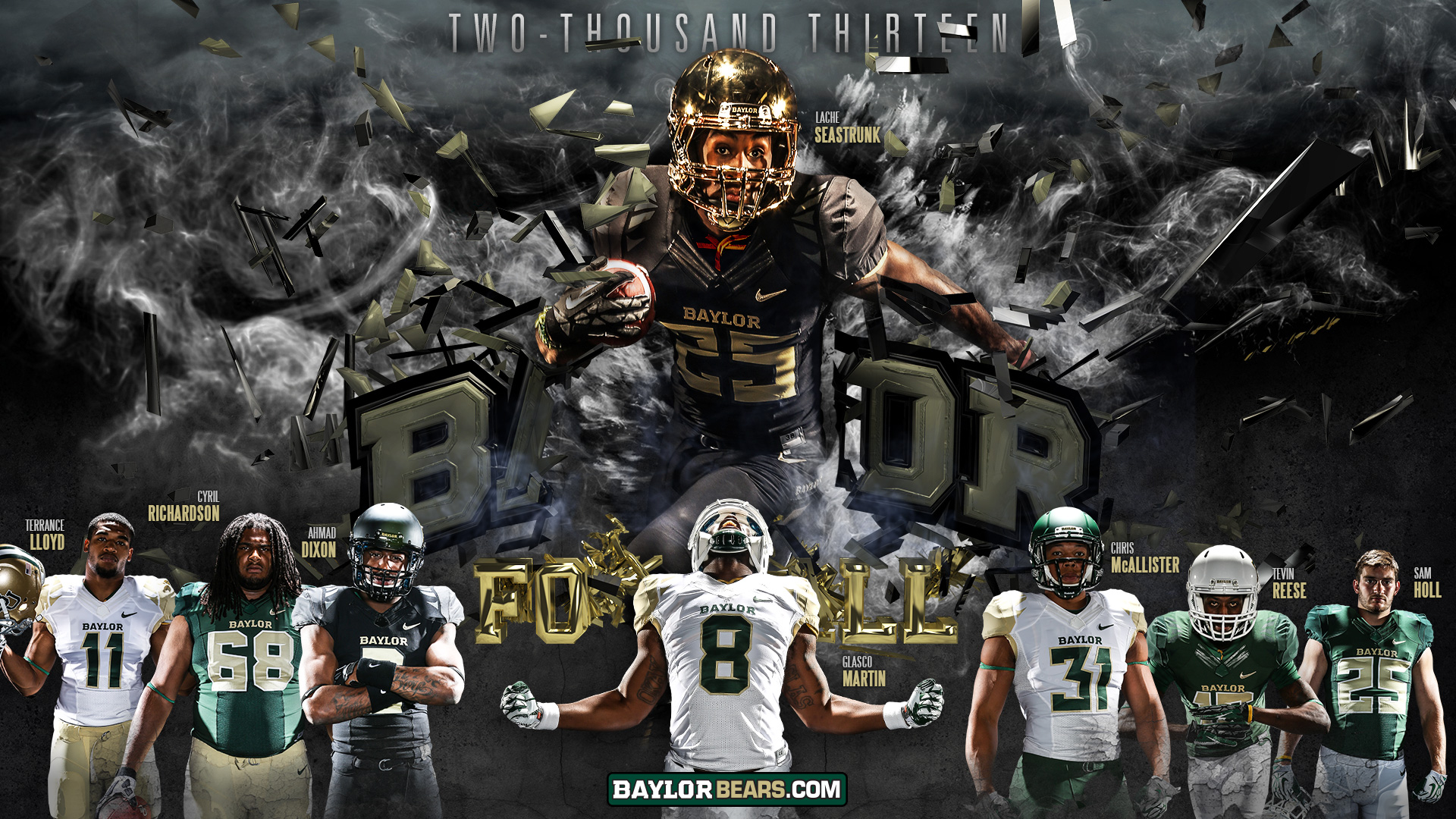 My Baylor Marcus Franklins 2013 MIS Site 1920x1080