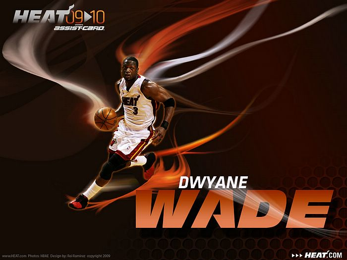 200910 Miami Heat season wallpapers   Dwyane Wade Wallpaper 30 700x525