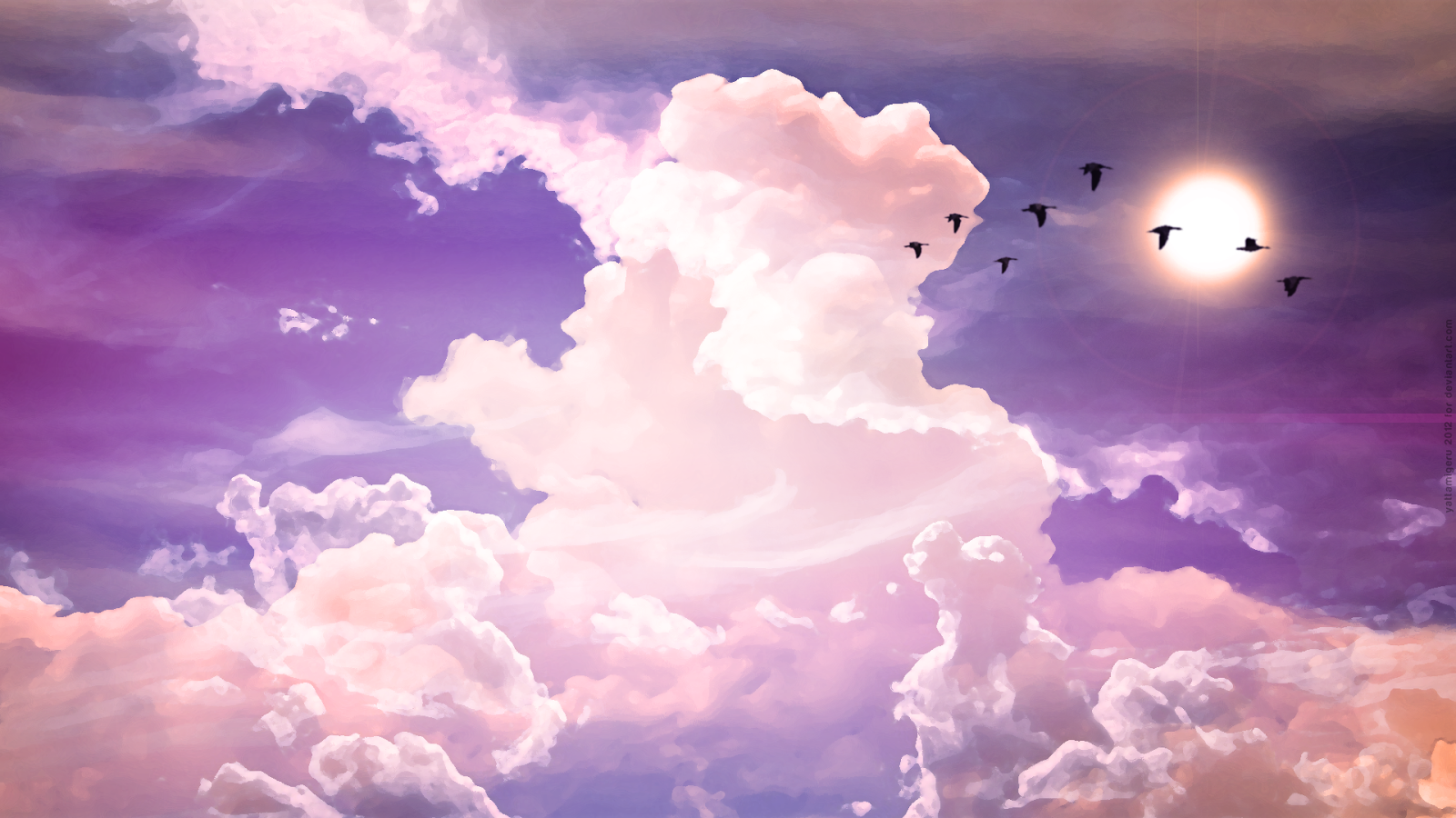 hd wallpapers for desktop sky cloud wallpapers hd 1600x900