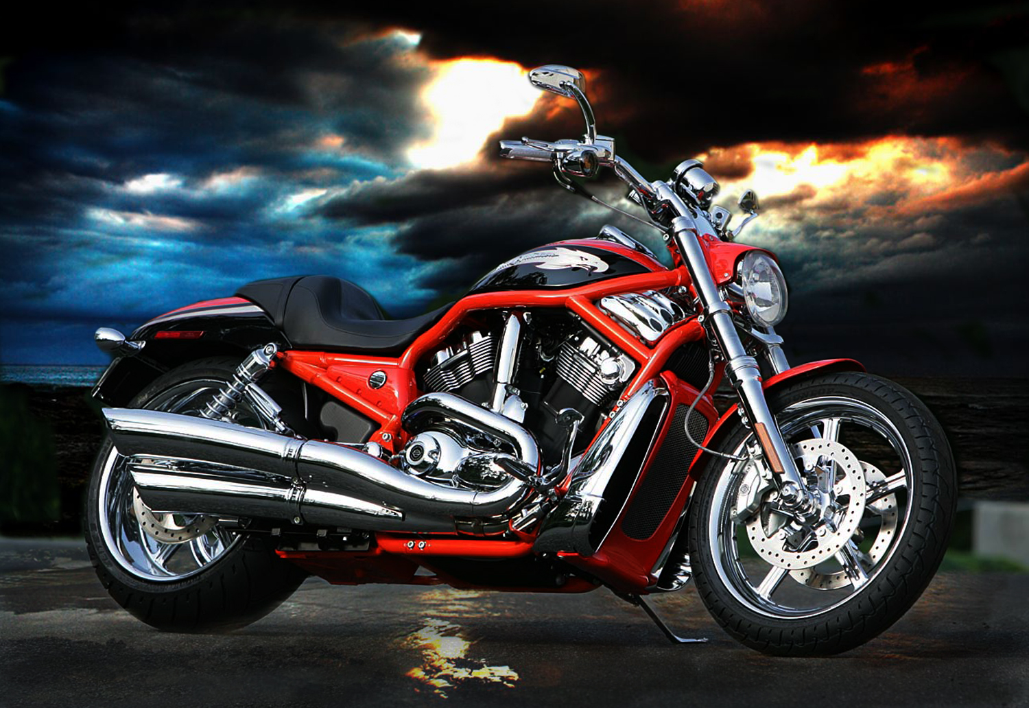 Cool Harley Davidson Wallpaper wallpaper wallpaper hd background 1500x1032