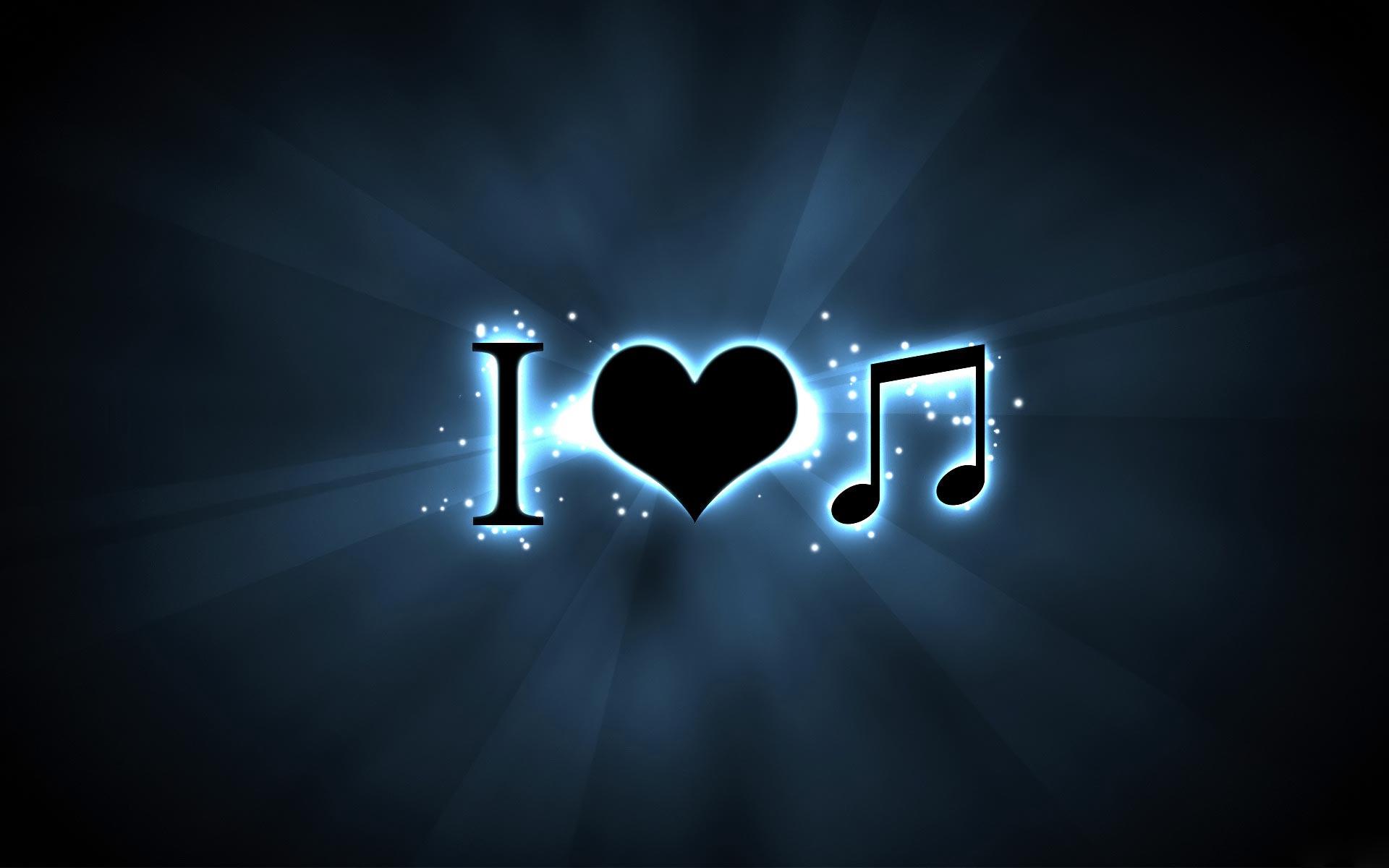 Love Music HD Wallpaper for Desktop and iPad 1920x1200