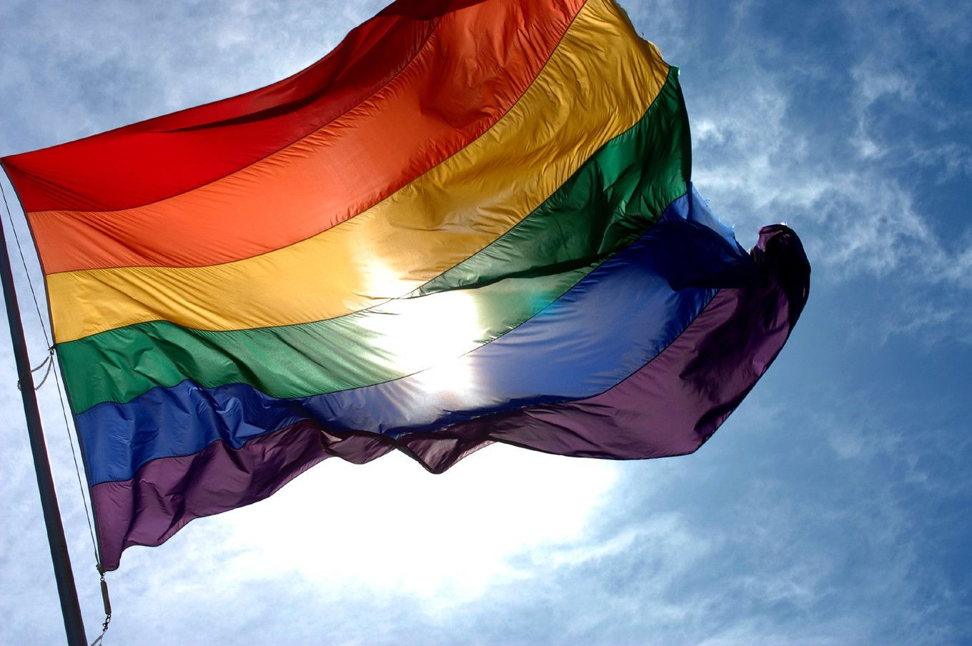 Gay flag wallpaper   SF Wallpaper 1360x904