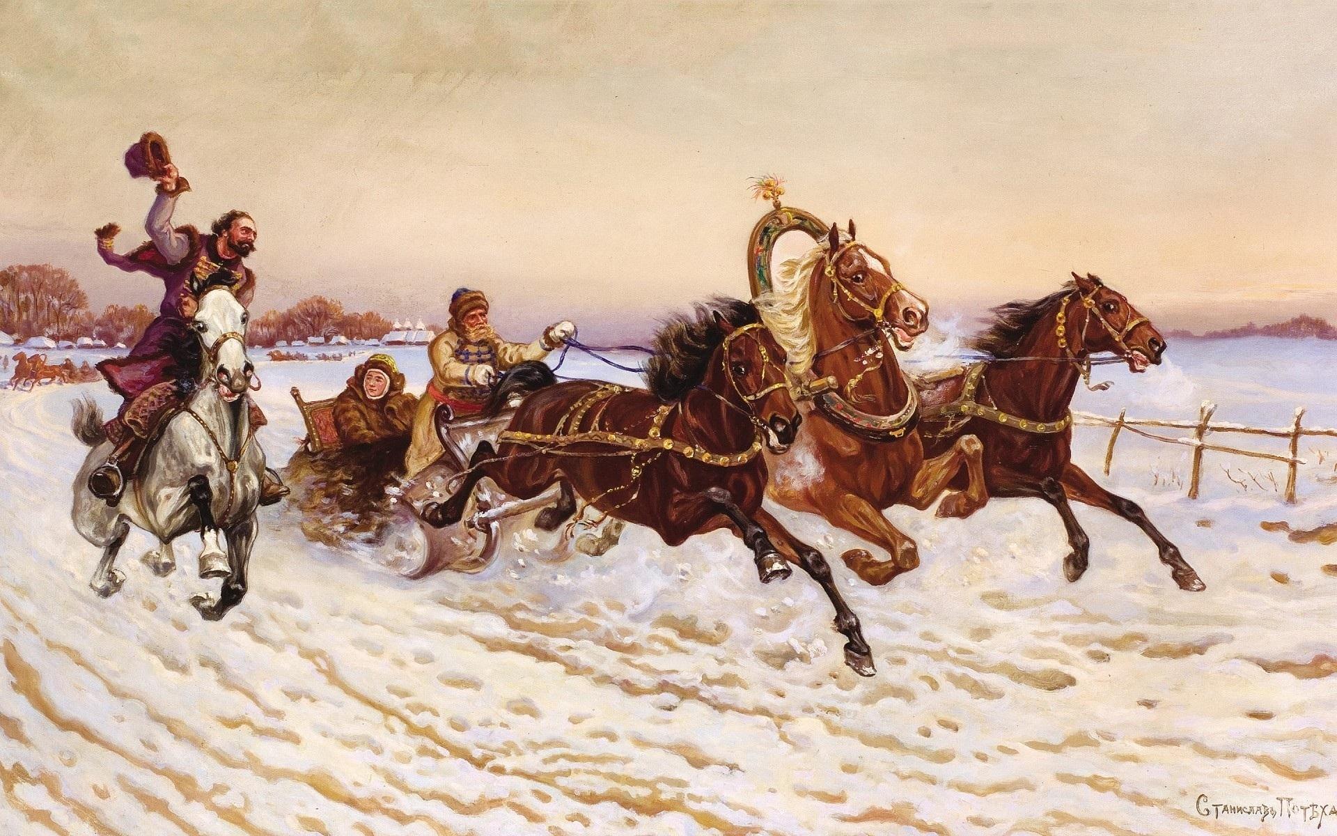 Potekha Wallpaper Paintings Art Painting HD Desktop Wallpapers 1920x1200