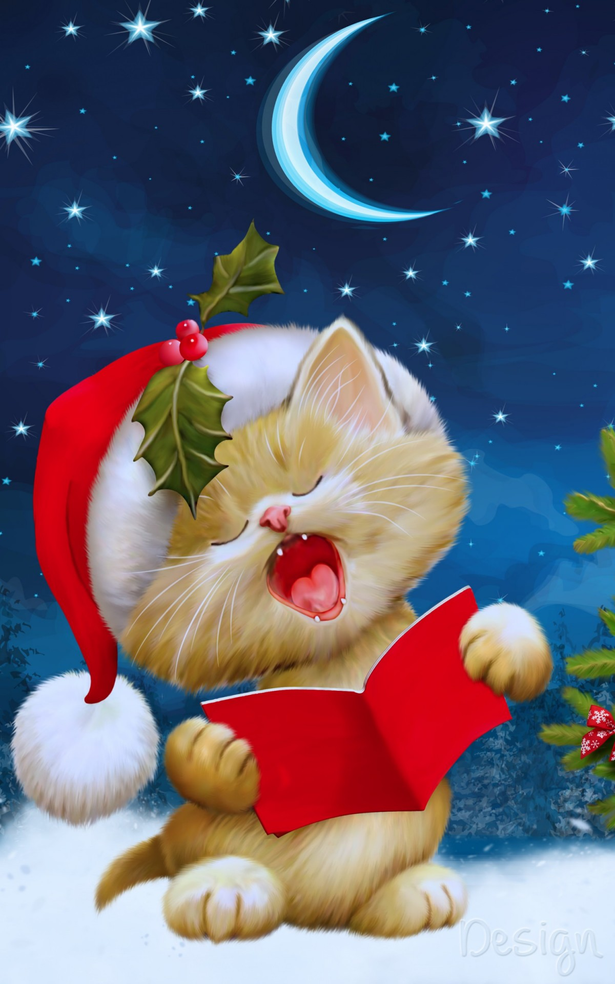 Christmas Carols HD wallpaper for Kindle Fire HDX   HDwallpapersnet 1200x1920
