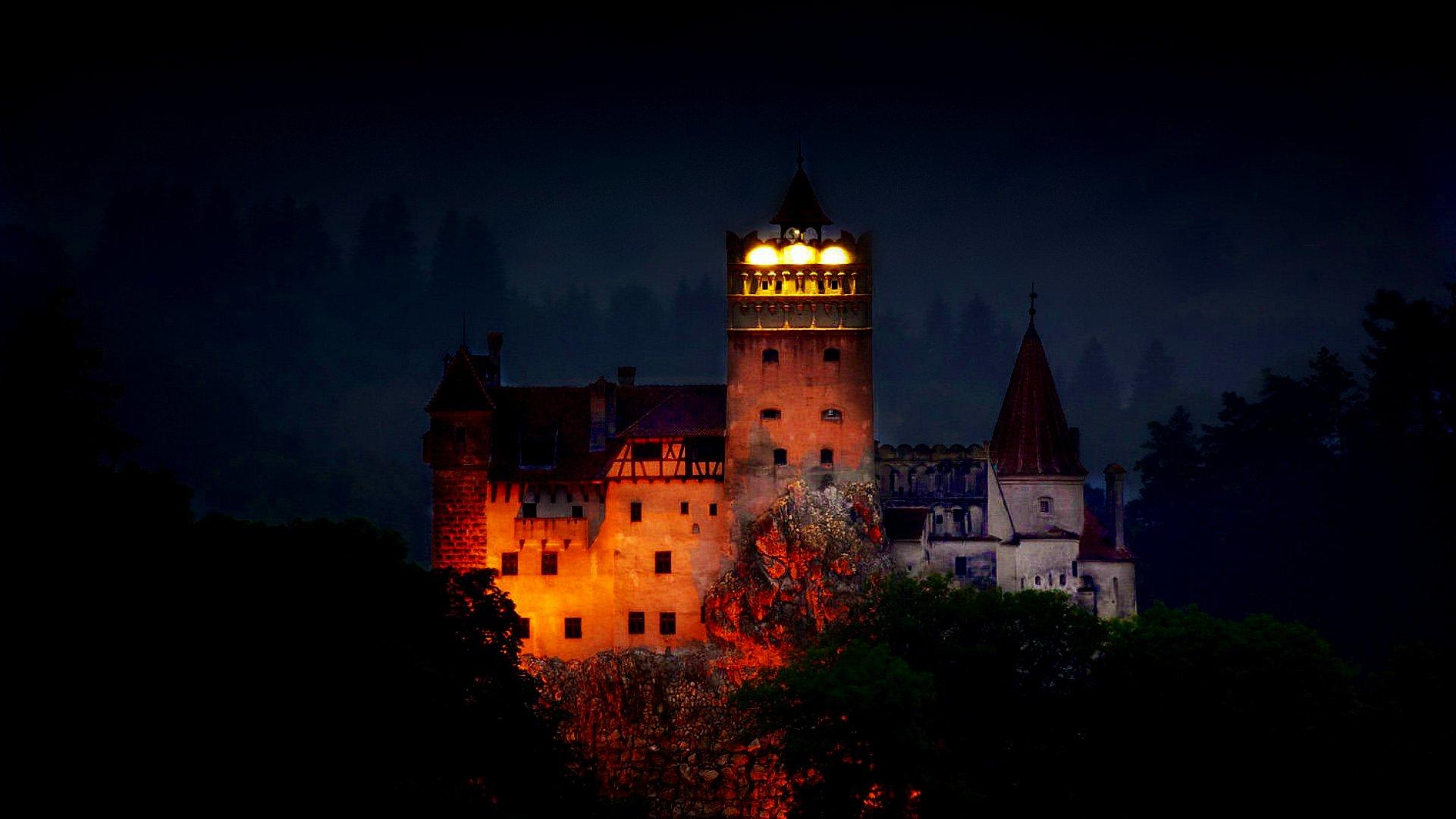 Dracula s Castle in Bran 1920x1080