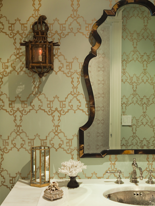 Someday I will have a bathroom with damask wallpaper It may not be 600x800