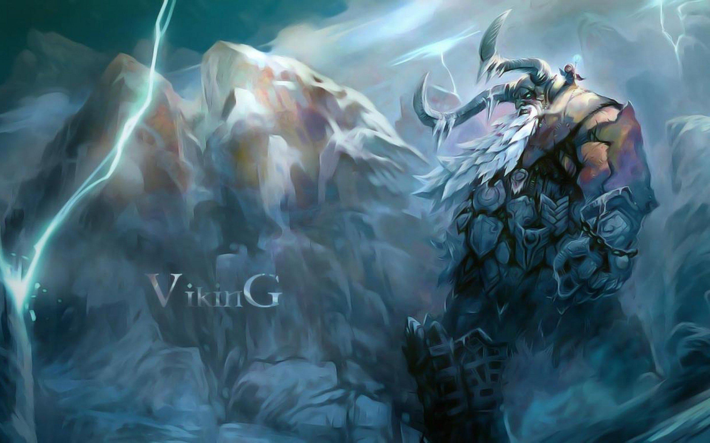 Norse Mythology Wallpaper - WallpaperSafari