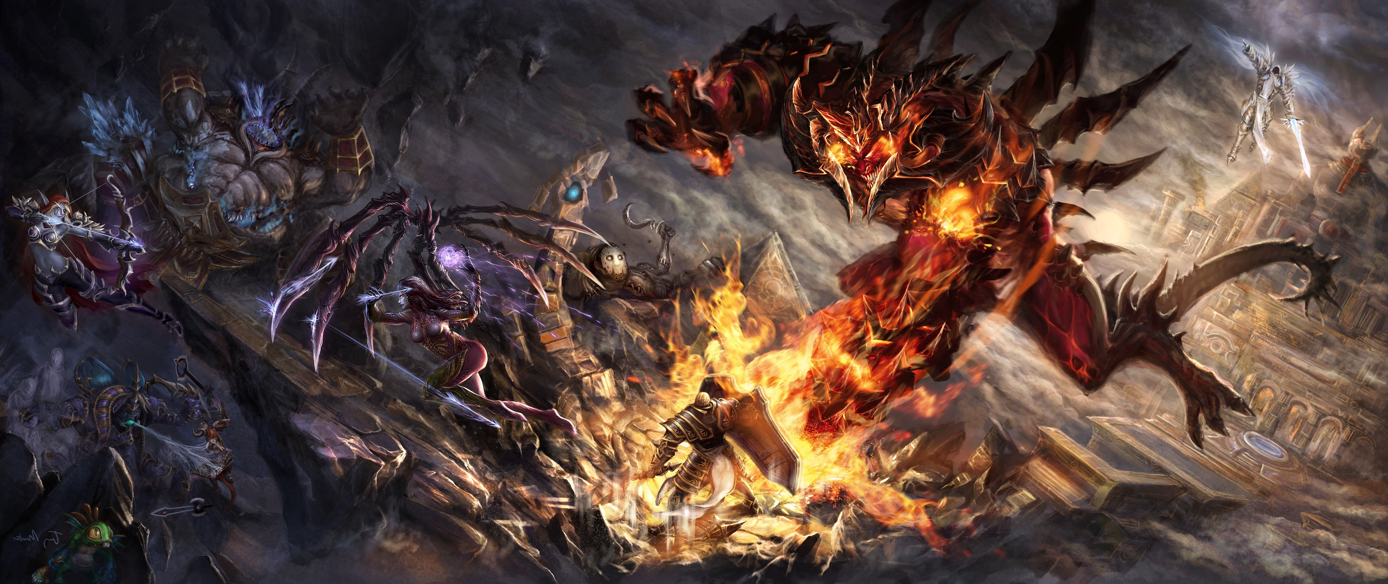 Free Download Heroes Of The Storm Hd Wallpapers And Background