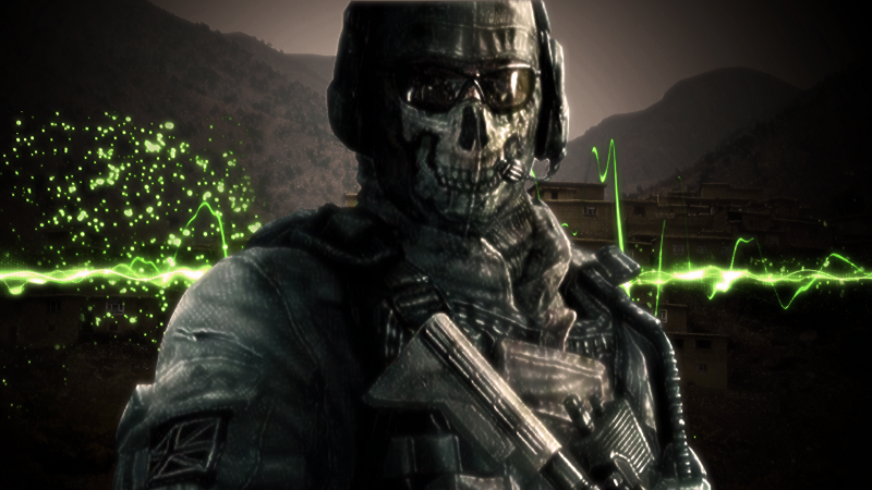 Free Download Ghost Mw2 Wallpaper Cod Mw2 Ghost 800x450