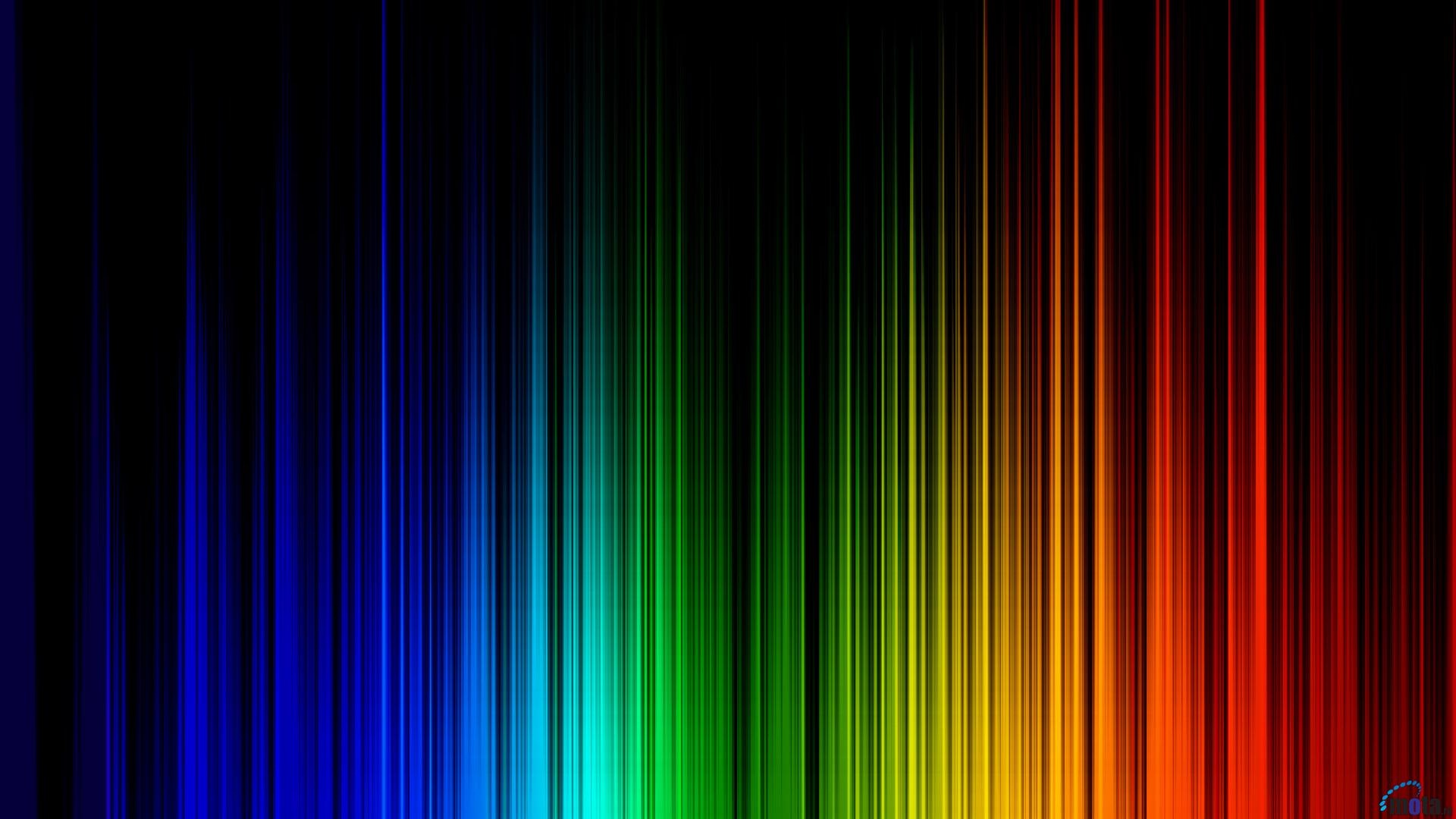 Rainbow Colors Background Wallpaper 1920x1080