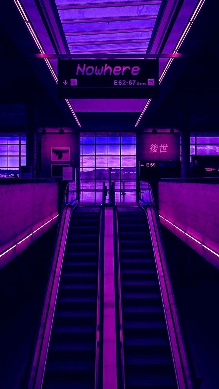 Neon Purple Aesthetic Wallpapers   Top Neon Purple Aesthetic 720x1280