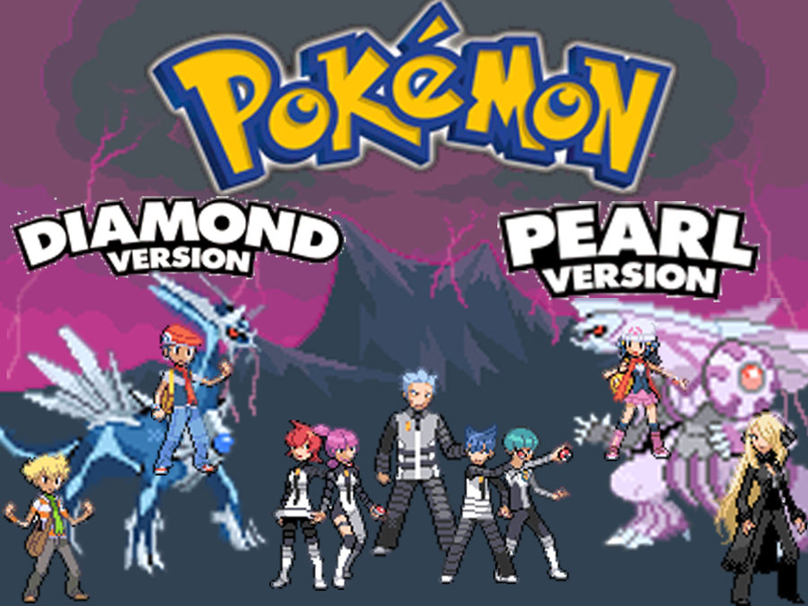 Free Download Pokemon Diamond And Pearl By Acen132 900x675