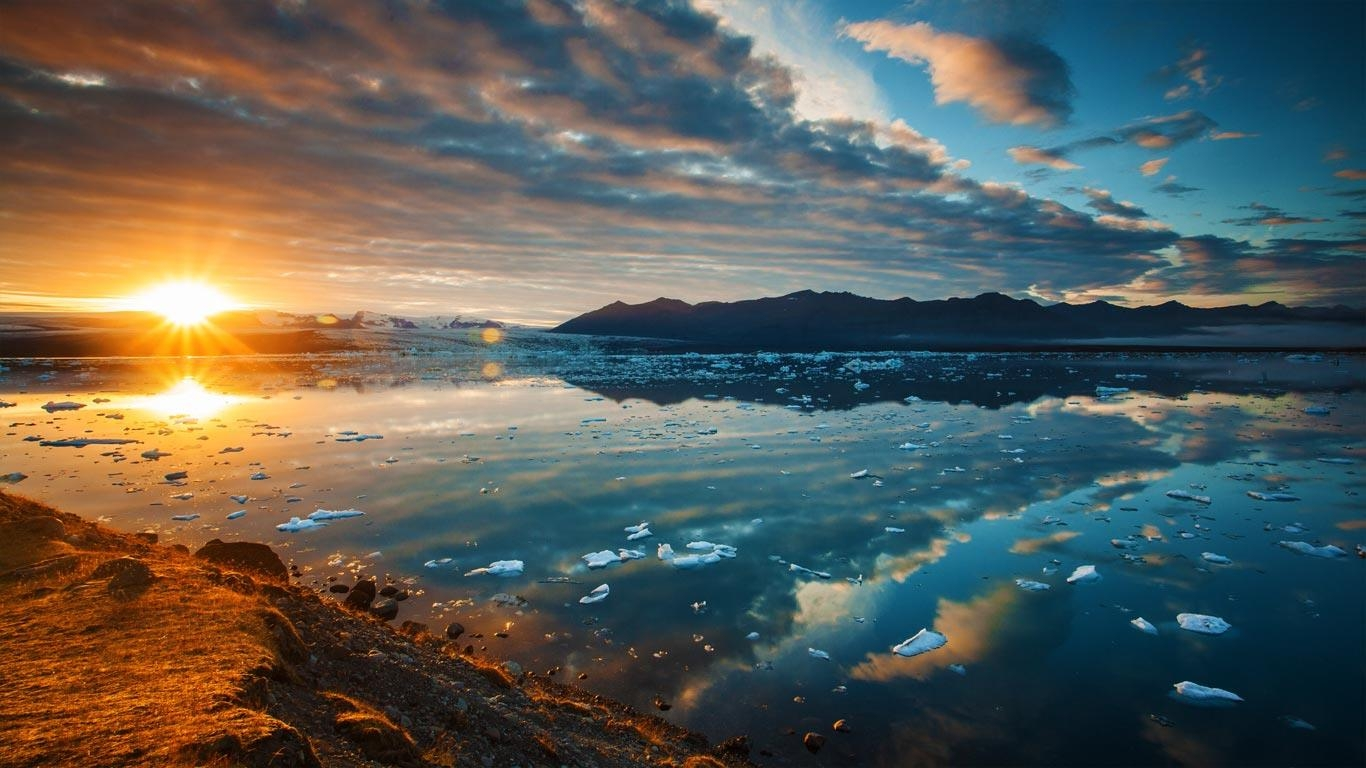 in southeast Iceland Getty Images Bing Australia Wallpaper 1366x768
