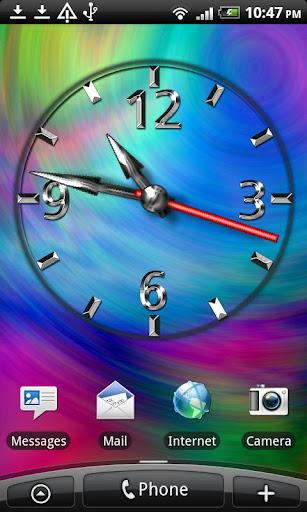 Cool Clock Live Wallpaper 307x512