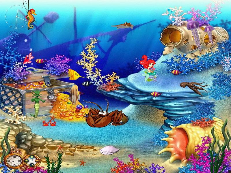 Aquarium Screensaver 800x600